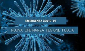 Emergenza Covid-19 – Nuova Ordinanza Regione Puglia