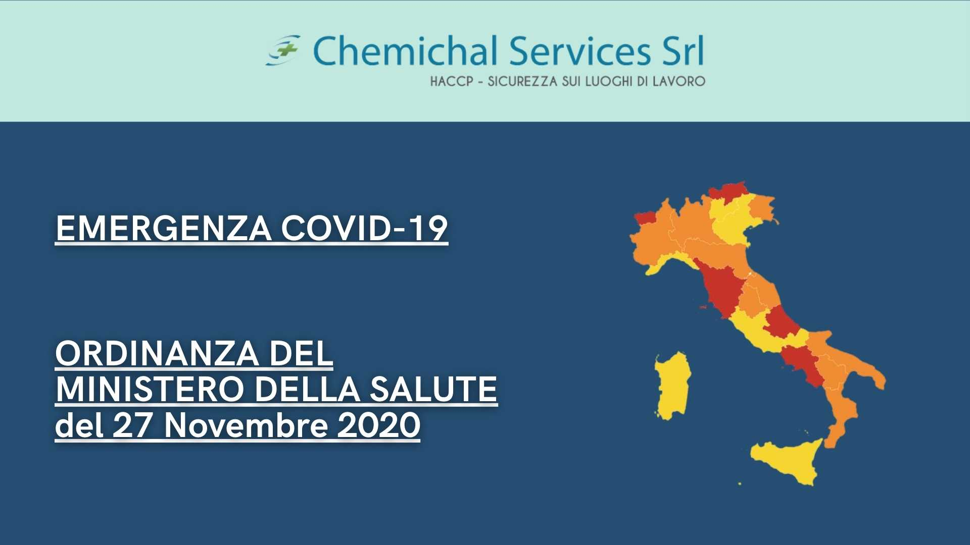 You are currently viewing Emergenza COVID-19 | Ordinanza del Ministero della Salute