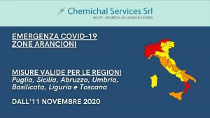 Zone Arancioni: nuove Regioni incluse