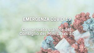 Read more about the article Decreto Legge del 22 Luglio 2021 del Consiglio dei Ministri
